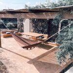 patio privato della Sute Dammusino Pantelleria