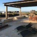 patio privato della view suite villa